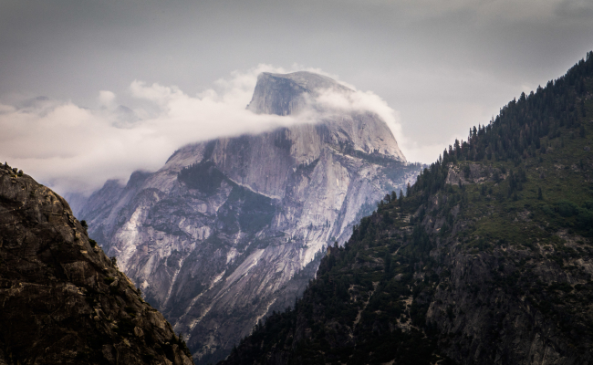 Half Dome Conditions Update: 6/12/2015