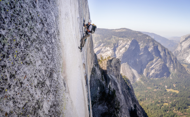 Conditions Report: Regular Route, Half Dome Rockfall