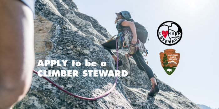 Apply for 2018 Climber Steward Positions